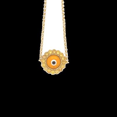 Pulseira Olho Grego Amarelo